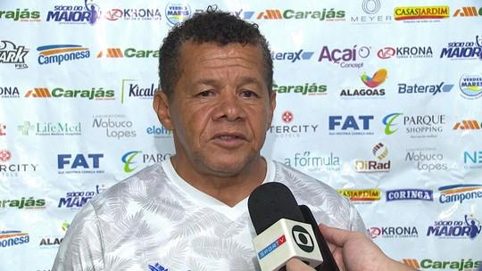 Contratado em abril, Lucas Dias  estreia no penúltimo jogo do CSA e ganha elogios de Jacozinho