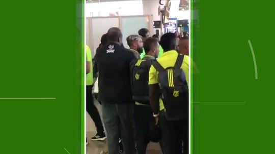 Após eliminação do Flamengo e preocupado com cobrança, Diego contratou seguranças particulares