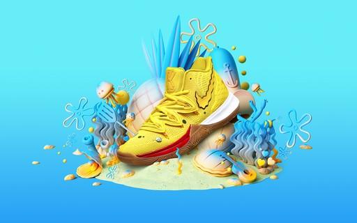 Nike E Kyrie Irving Lancam Colecao Especial De Bob Esponja Vogue