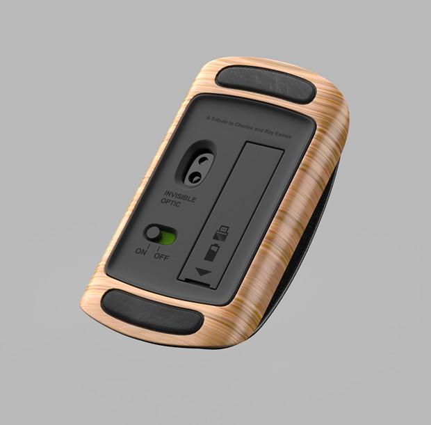 Este mouse inspirado na poltrona Eames é o sonho de todo arquiteto (Foto: Divulgação)