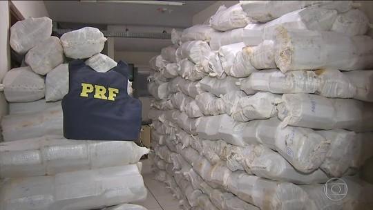 MS, PR, GO e MG são as principais rotas do tráfico de drogas e armas