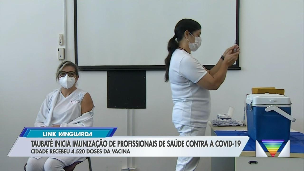 Taubaté inicia vacinação contra Covid-19 nesta quinta