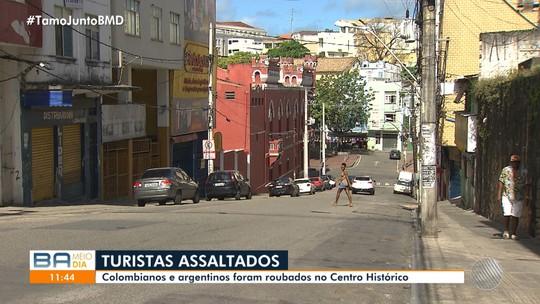 Turistas são vítimas de assaltos em Salvador