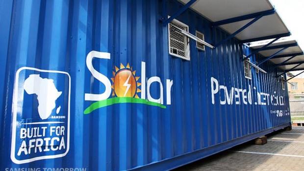 Solar Powered Internet School, projeto desenvolvido pela Samsung (Foto: Divulgação)