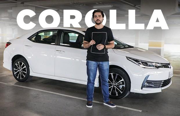 Vídeo Toyota Corolla XRS (Foto: Autoesporte)