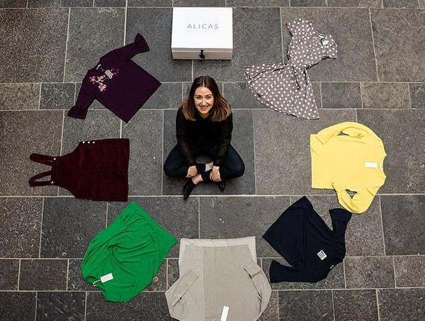 """Mulher abriu empresa que faz """"guarda-roupa"""" para vítimas de violência doméstica (Foto: Divulgação)"""