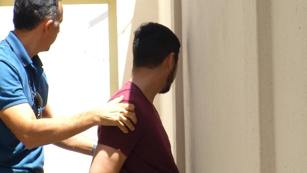 Homem foi preso por extorquir mulheres com fotos íntimas no RN — Foto: Reprodução/Inter TV Cabugi