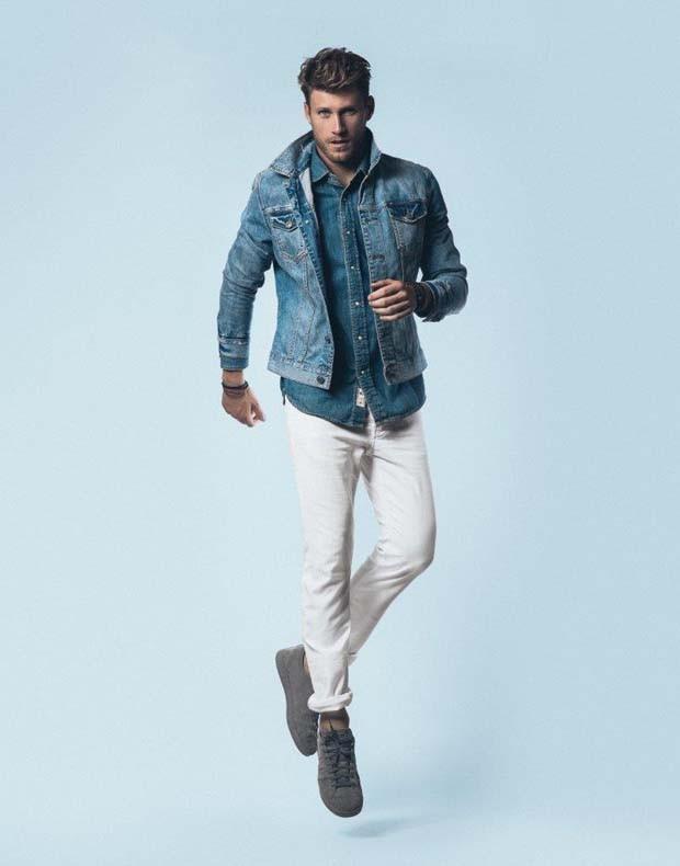 Rafael Breier, o modelo ex-eletricista que está encantando o mundo da moda (Foto: Divulgação)