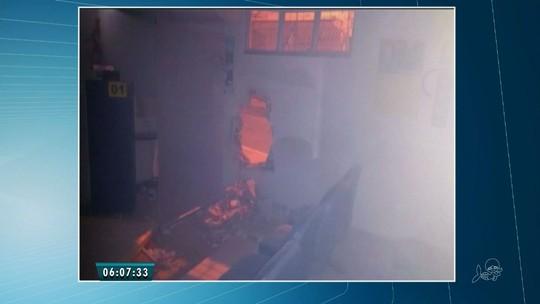 Quadrilha ataca agência bancária em São João do Jaguaribe, no Ceará