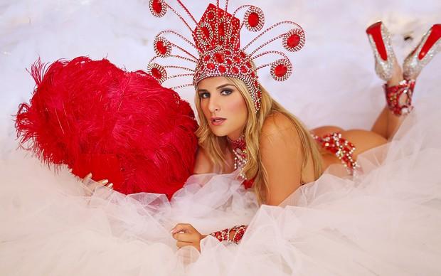 Elas vão dar o que Falar - Carnaval - Vanessa Alcantara (Foto: Iwi Onodera / EGO)