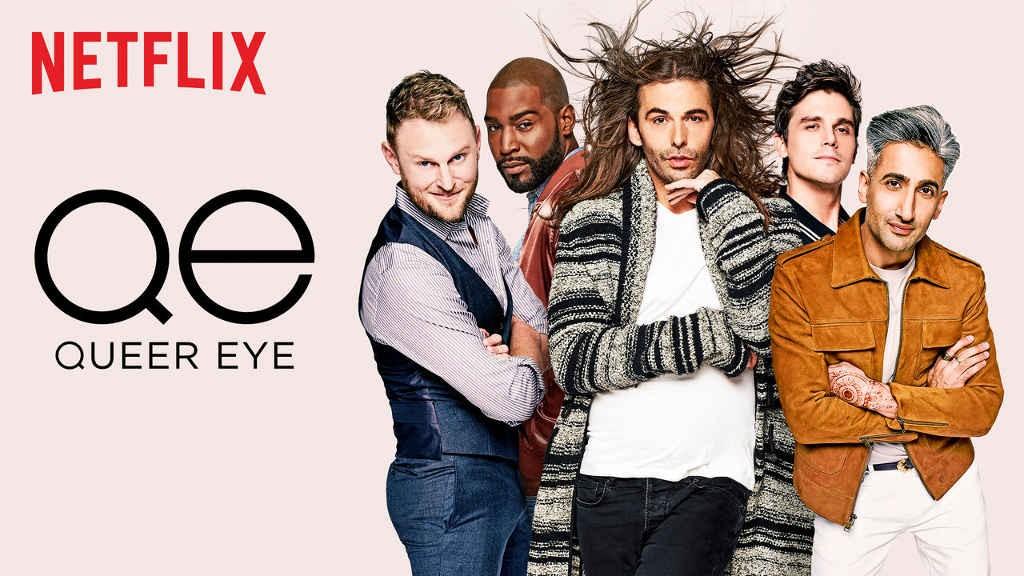 Os cinco especialistas que conduzem o programa Queer Eye, que estreou na Netflix em 2018 (Foto: Divulgação)