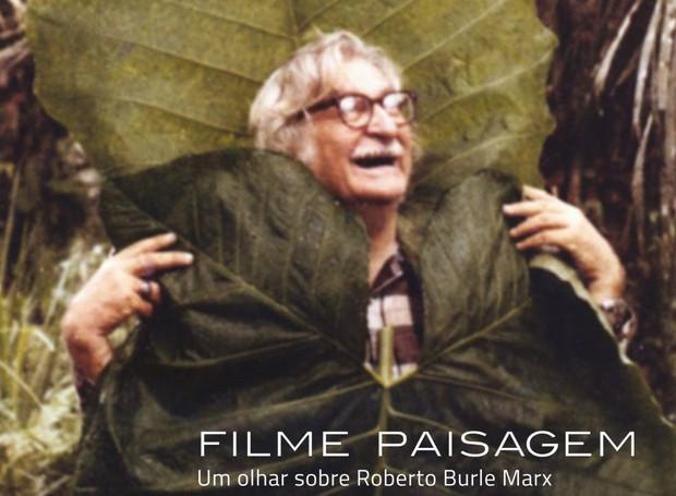 Filme sobre vida e obra de Roberto Burle Marx será exibido no IMS do Rio de Janeiro (Foto: Facebook / FilmePaisagem)
