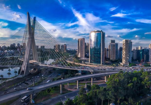 Sozinha, São Paulo tem o dobro do PIB carioca e responde por 11% da economia do país (em 2002 respondia por 12,7%) (Foto: Pexels)