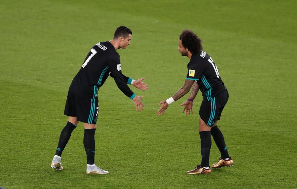 Marcelo é lateral ofensivo que avança pela ponta ou entra no meio (Foto: Reuters)