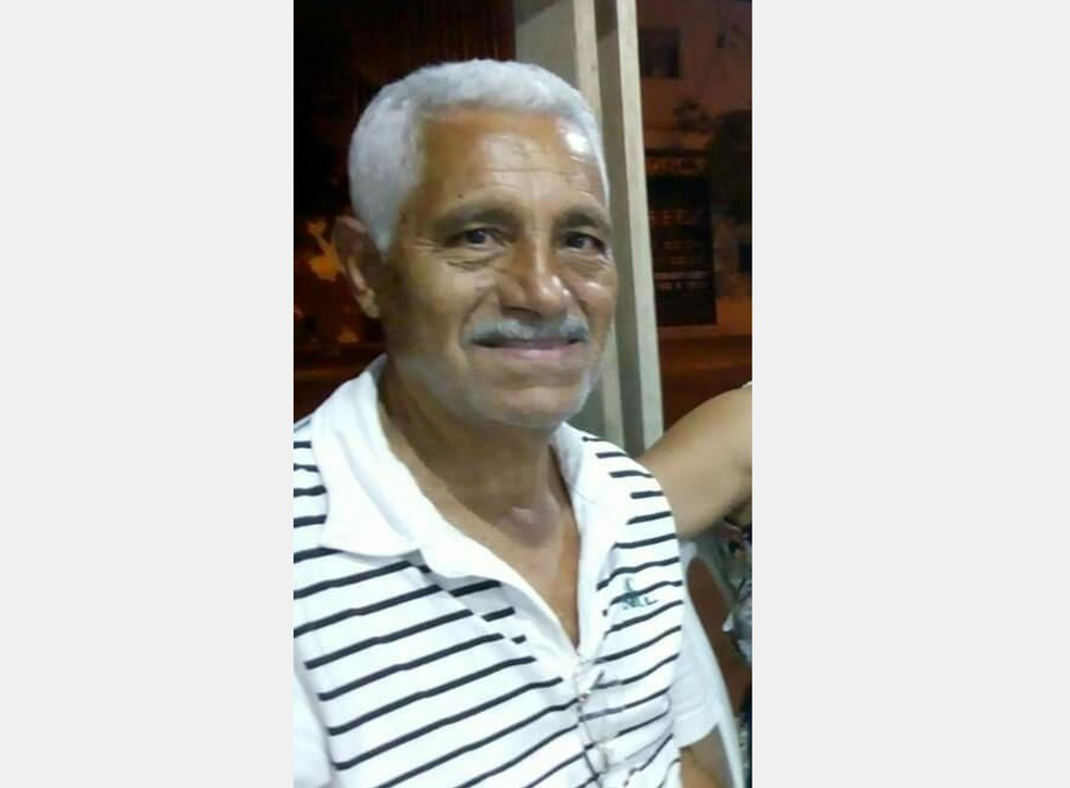 Cláudio Manoel Ricardo estava internado no Hospital Aroldo Tourinho e morreu na quarta-feira (1º) — Foto: Arquivo pessoal