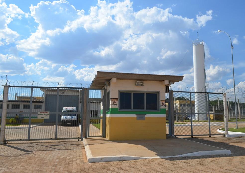 Tentativa de homicídio aconteceu no Centro de Ressocialização Cone Sul  — Foto: Jonatas Boni/G1