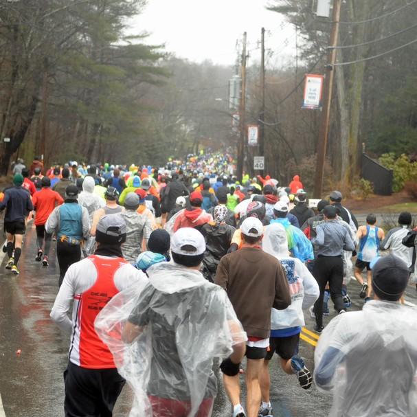 Maratona de Boston (Foto: Reprodução)
