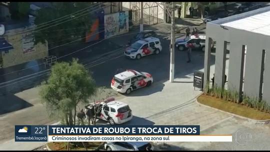 Tentativa de roubo assusta moradores no Ipiranga