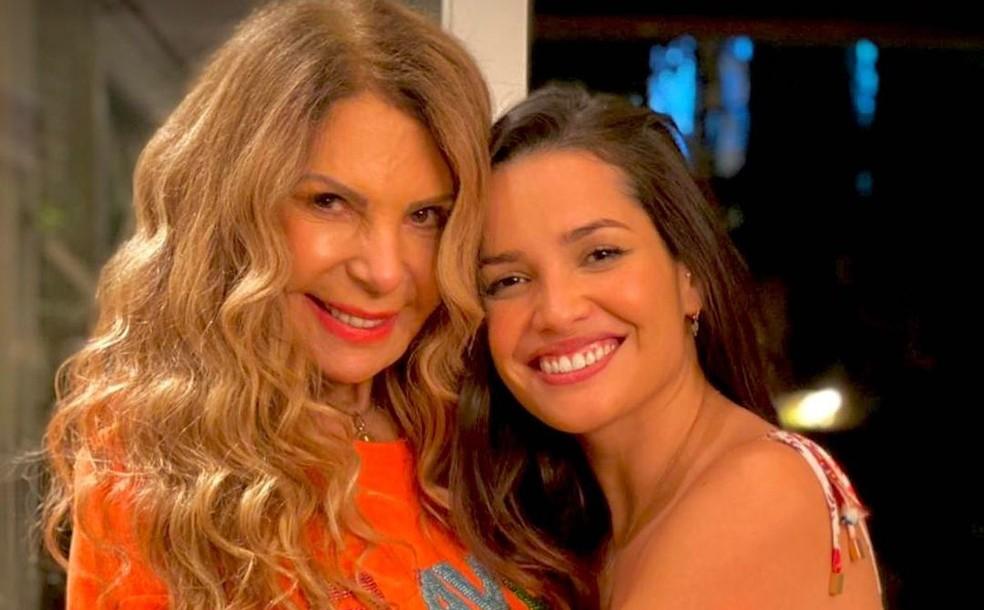 Juliette vai cantar com Elba Ramalho em live de São João nesta quarta-feira (23) — Foto: Reprodução/Instagram/ElbaRamalho
