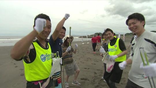 Japoneses preparam as praias para a estreia do Surfe como esporte olímpico em 2020