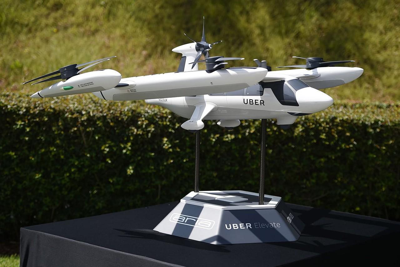 Drone da Uber (Foto: Divulgação)