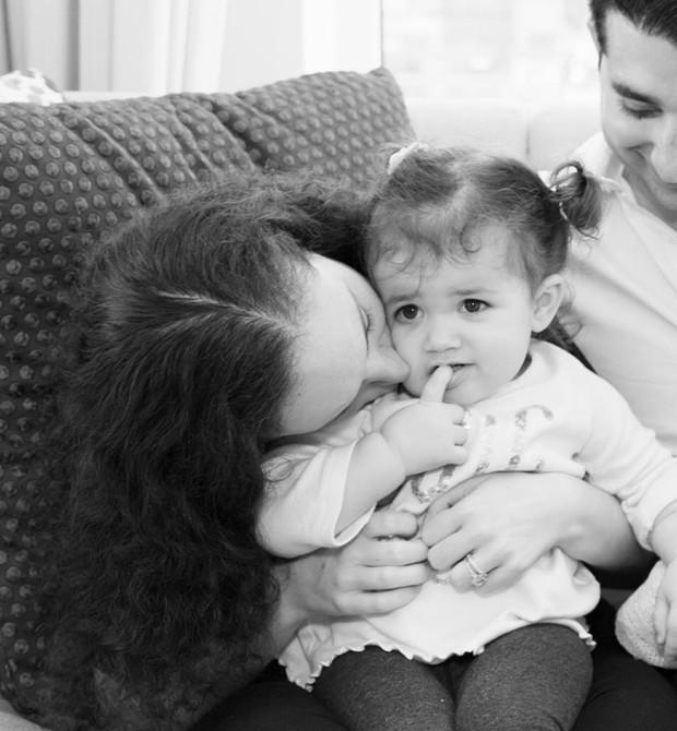 Danielle publicou um depoimento nas redes sociais pedindo para que as pessoas parassem de se preocupar com o peso da sua filha (Foto: Reprodução/Facebook)