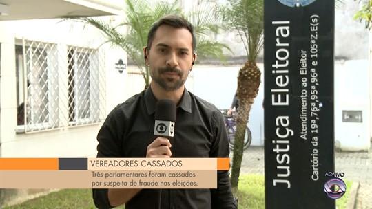 Três vereadores de Balneário Barra do Sul, SC, têm mandatos cassados pela Justiça Eleitoral