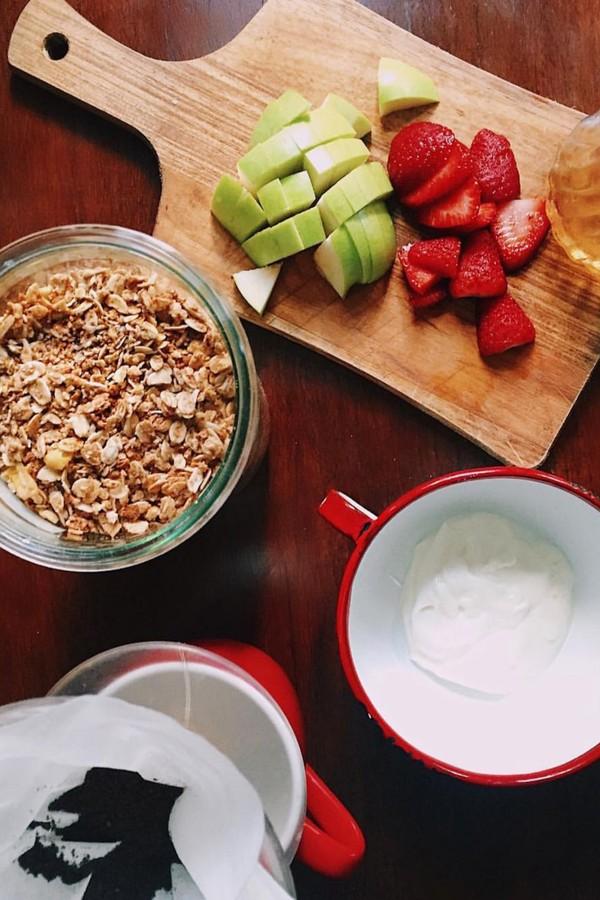 Hoje em dia, a minha relação com a comida é de amor! (Foto: Instagram/Reprodução)