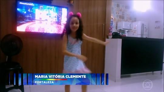 'Criança Dança': mande um vídeo do seu filho dançando, ele pode aparecer no 'Domingão'!