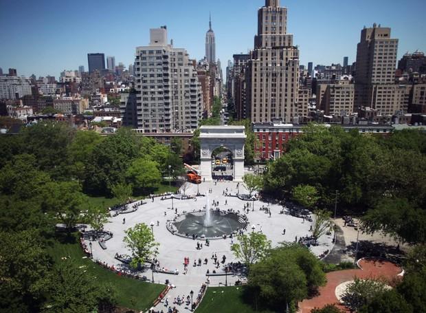 Washington Square Park, em Nova York (Foto: Divulgação)