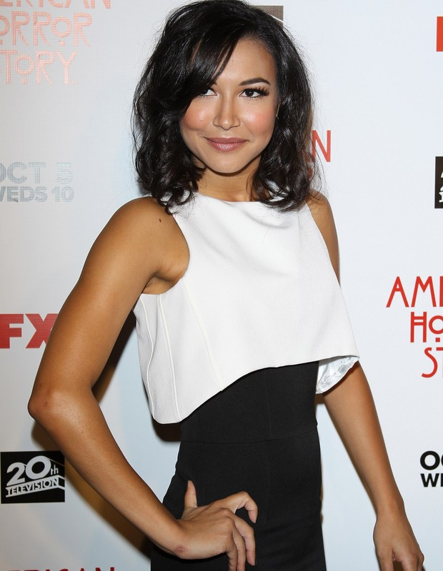 "Naya Rivera arrives at the Los Angeles premiere of FX's ""American Horror Story"" held at ArcLight Cinemas Cinerama Dome on October 3, 2011 in Hollywood, California.  (Foto: FilmMagic)"