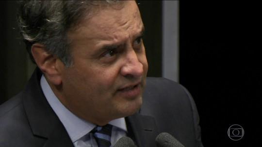 Senado vai analisar medidas cautelares impostas a Aécio Neves