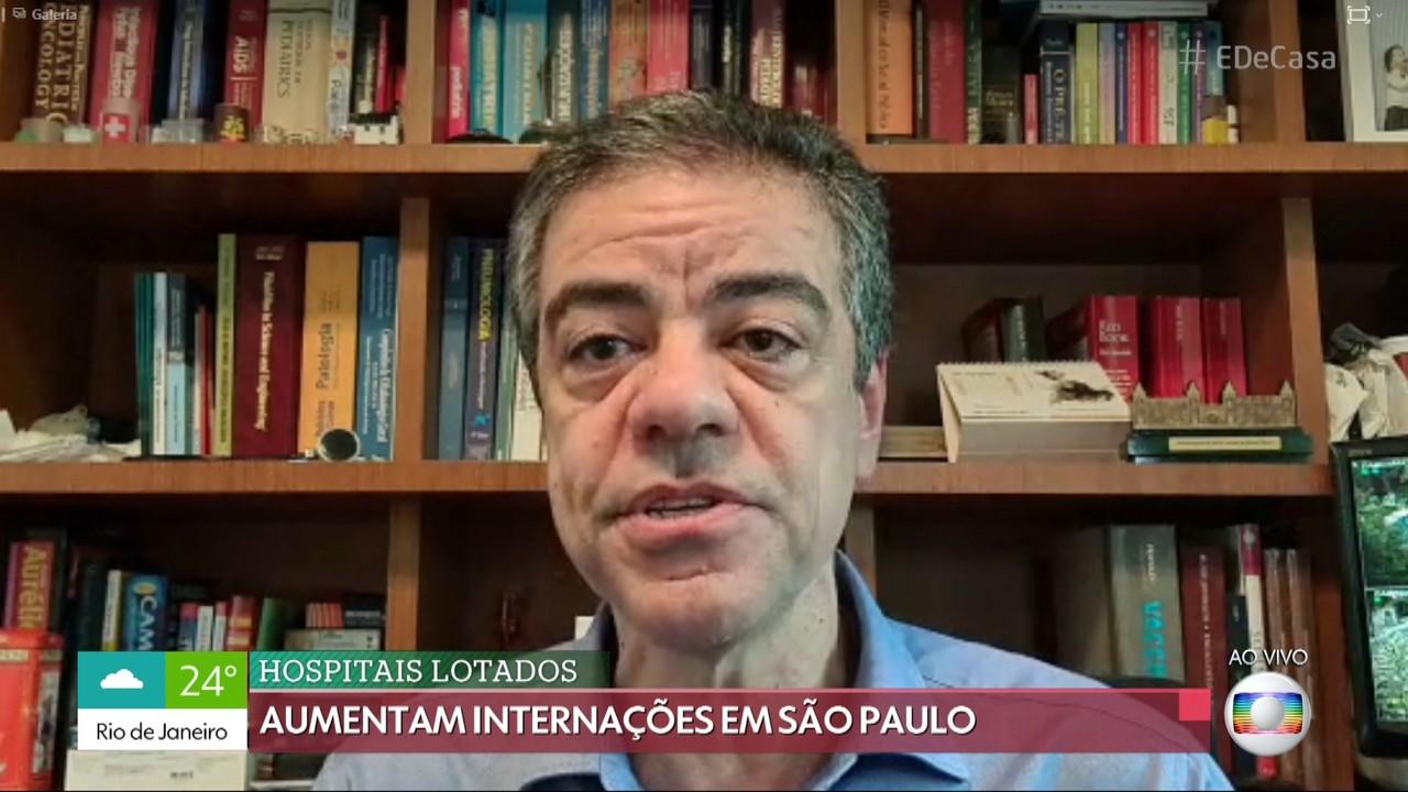 Internações por Covid-19 têm aumentado em São Paulo