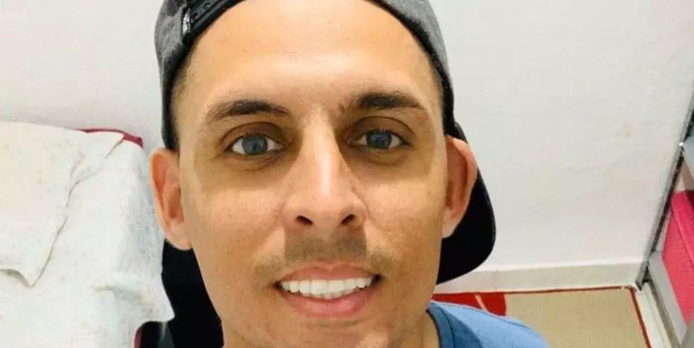 Edgar de Oliveira Fonseca é acusado de matar a ex-mulher Débora Raquel Silva, de 28 anos, em Guarujá — Foto: Arquivo Pessoal