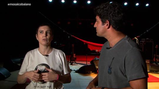 Adriana Calcanhotto fala sobre produção do show 'A Mulher do Pau Brasil'