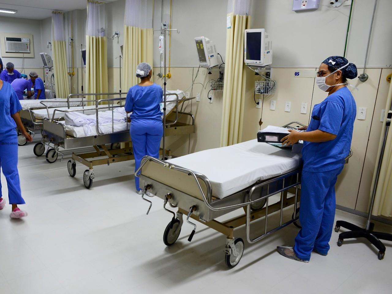 Com taxa de ocupação acima de 95%, RN termina semana com 11 leitos públicos a menos para tratamento da Covid-19
