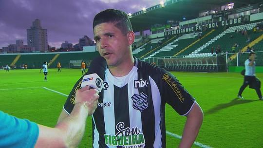 Diego Renan lamenta empate diante do Atlético-GO