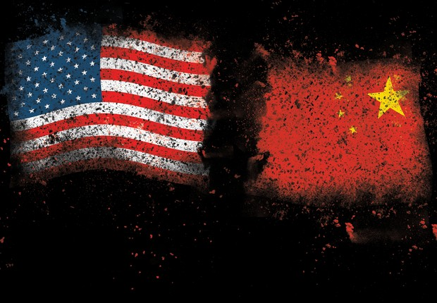 Estados Unidos e China (Foto: GETTY IMAGES )