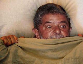 Lula assustado (Foto: Arquivo Google)