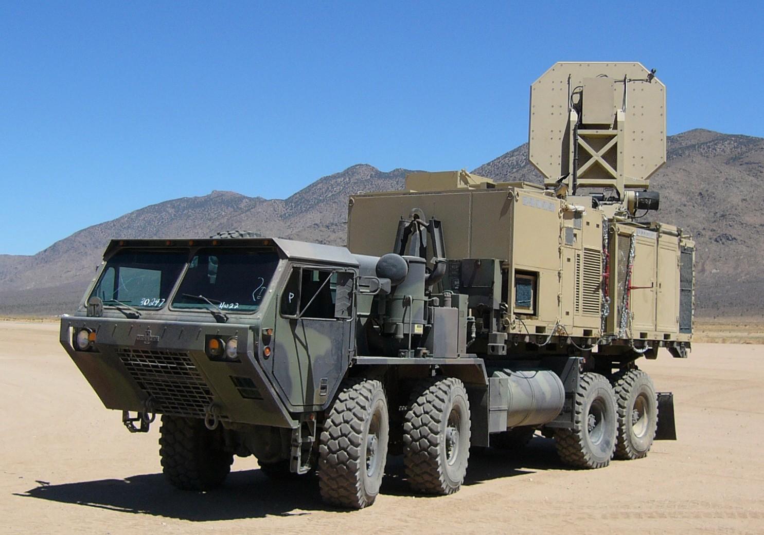 Arma com raios de microondas desenvolvida pela Força Aérea americana. (Foto: US Air Force)