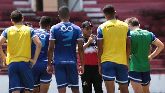 Foto: (Rafael Melo/Santa Cruz)