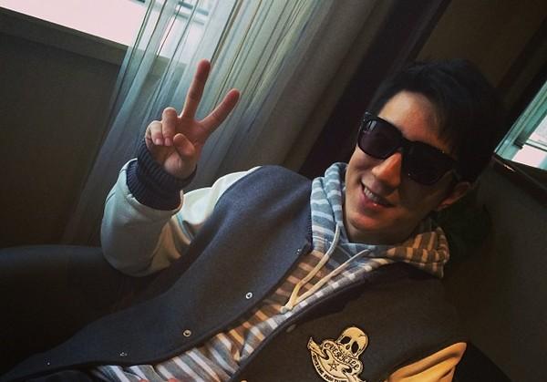 O filho mais velho do ator Jackie Chan, o também ator Jaycee Chan (Foto: Instagram)