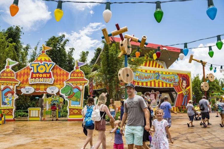 O novo Toy Story Mania! (Foto: Divulgação)