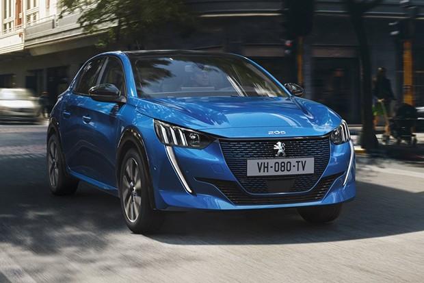 Peugeot e-208 é a versão elétrica do 208  (Foto: Divulgação)