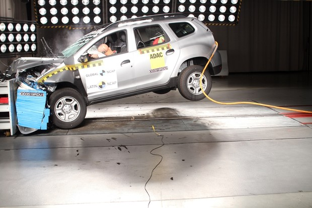 Latin Ncap novo Renault Duster (Foto: Latin Ncap/Divulgação)