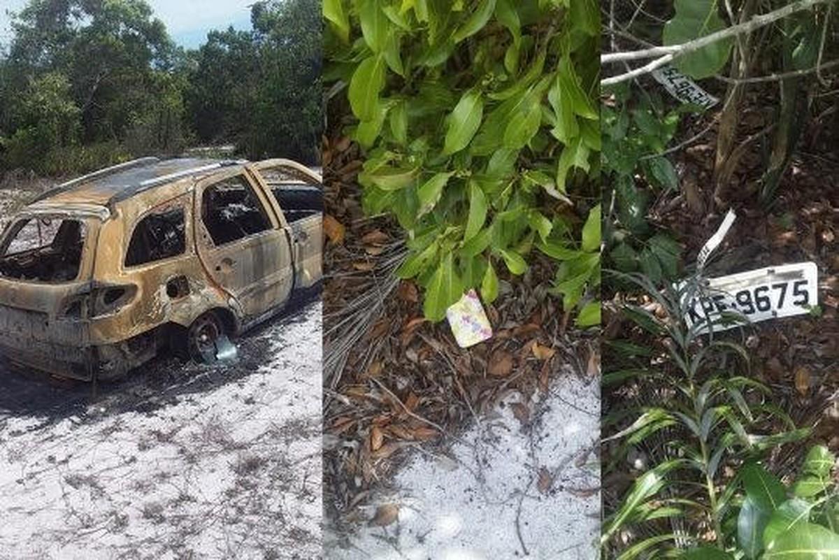 Corpo é encontrado carbonizado no RJ; polícia investiga se vítima é mulher sequestrada em Macaé