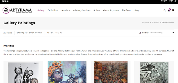 artyrama Startup quer dar visibilidade a artistas africanos