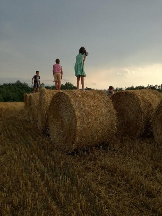 Saiba como jovens estão construindo uma ecovila na Italia (Foto: Silvana maria Rosso e divulgação)