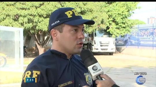 PRF do Piauí registrou quatro óbitos em estradas durante o feriado