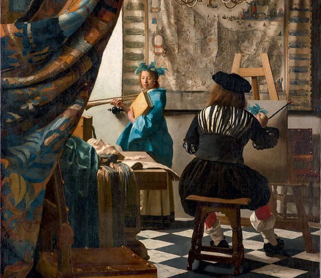 Além do Vale - A Arte da Pintura é uma das telas de Vermeer reunidas pelo aplicativo Google Arts & Culture (Foto:  Wikimedia Commons)